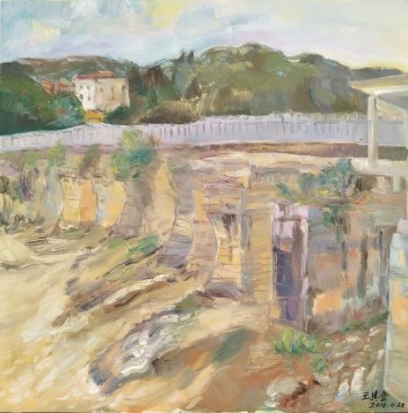 废弃的古桥
