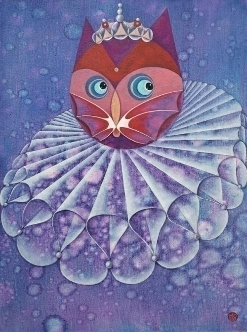 蝴蝶喵-喵王的肖像