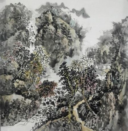 溪山幽居图