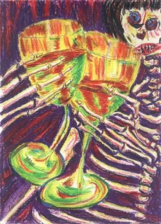 酒杯系列作品