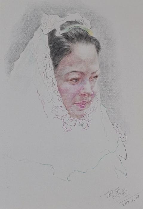 素描…惠安女