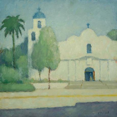 圣地亚哥老城的教堂