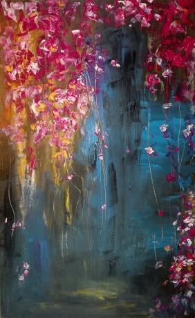 三月紫荆梅雨伴