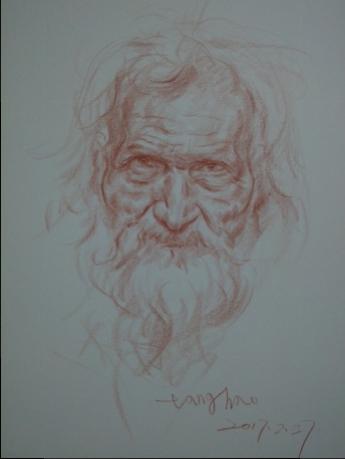 大胡子老人