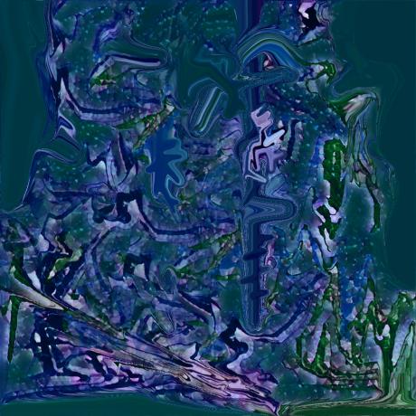 手机抽象画