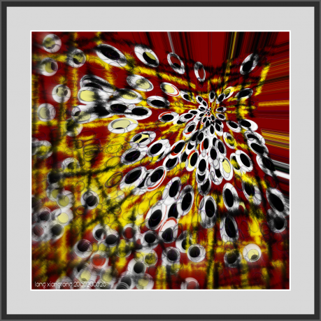 红豹(手机画)