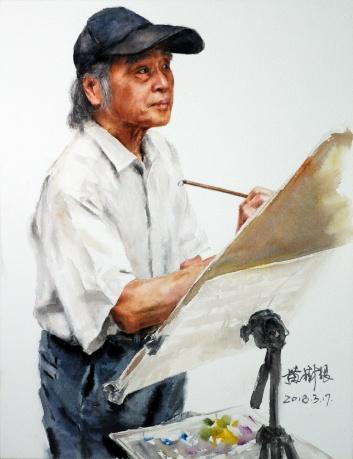 耄耋丹青-肖笙老师