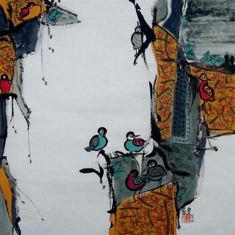 鸟语花香系列