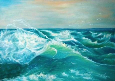 海潮生浪花-----之二