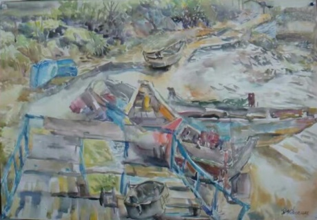 海地村小码头