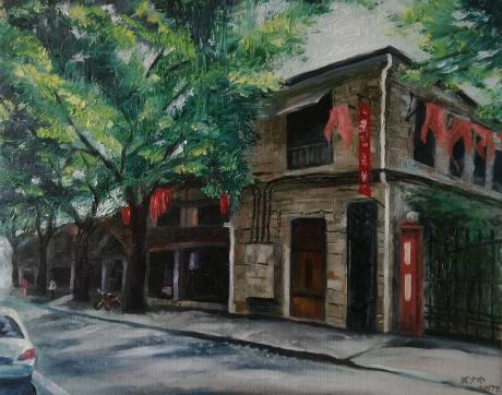 安静的老街