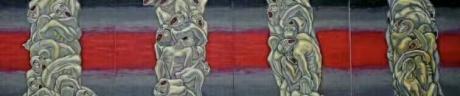 张润萍油画《冰冷的碑》