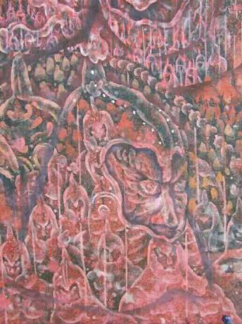 张润萍国画《长城》