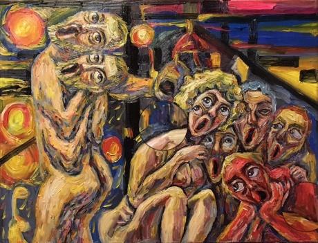 梵高组画之一《超越与孤独》