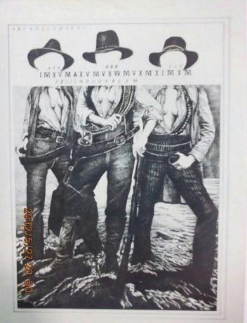 1993年黑白画