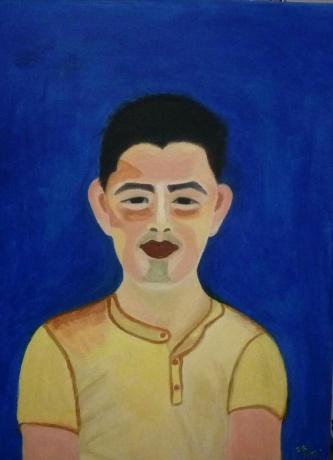 青年男子肖像