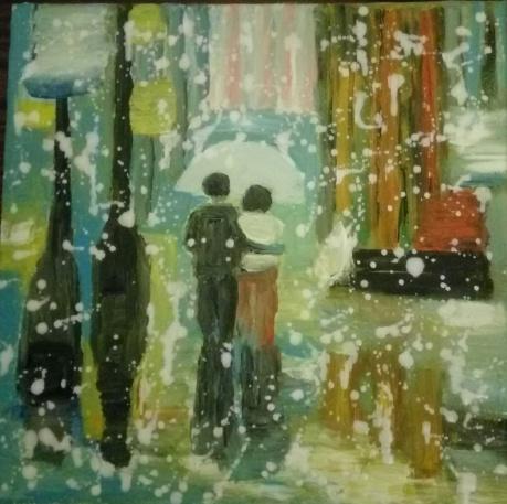 雨中即景之三
