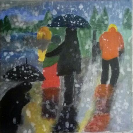 雨中即景之五