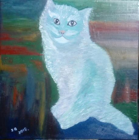 春拍《我的招财猫·布丁》