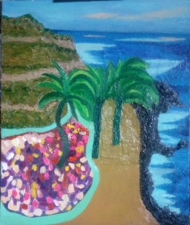 《椰海风情》