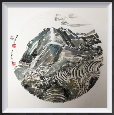 心印系列-桂林梯田