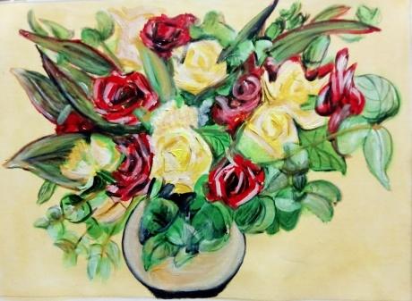 花与花瓶系列