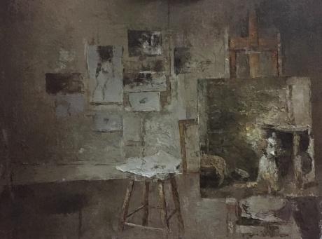 怀斯的画室