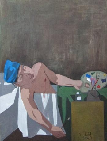 致雅克·路易·大卫:为艺术献身的画者