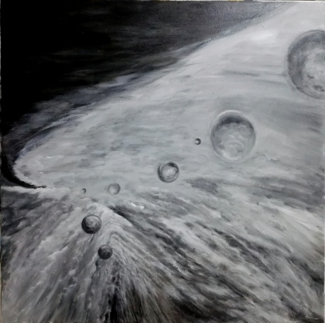 刘宇琛科幻作品《我是谁》系列32~概率决定论宇宙