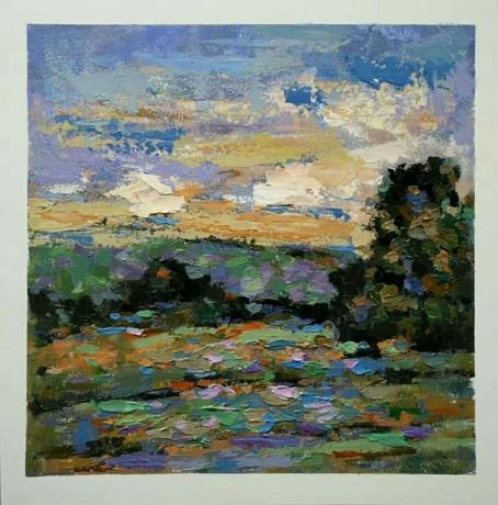 春拍《油画风景》