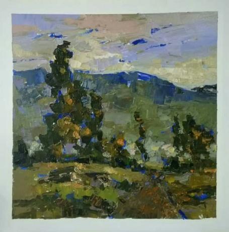 春拍  《油画风景》