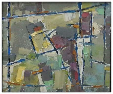 春拍《油画抽象》
