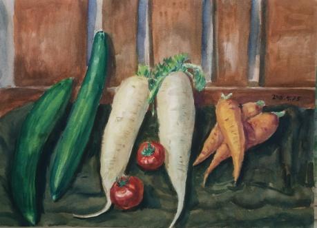 春拍,蔬菜