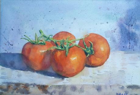 四个西红柿