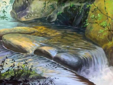 《水乳交融~巽寮溪》