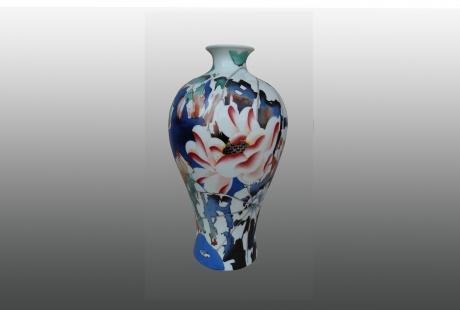 《秋红》系列之梅瓶
