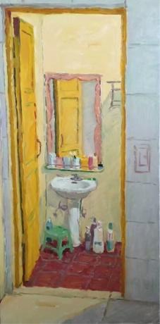 春拍《浴室》