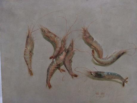 春拍,大虾