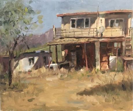 废弃的农舍