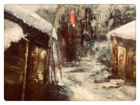《晃.暖冬的院子》
