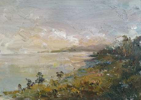 西涧湖一景
