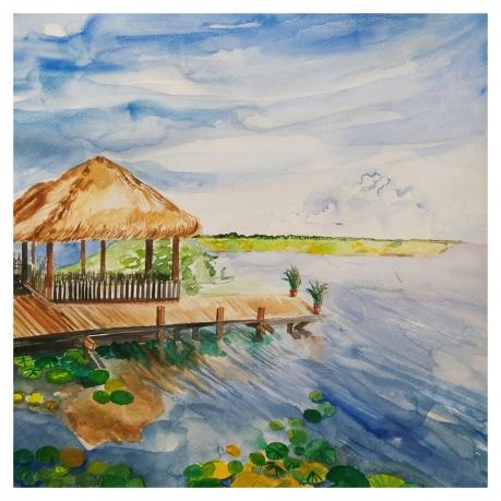 《洞里萨湖》