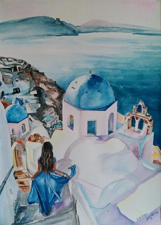《BLUE DREAM》系列作品一