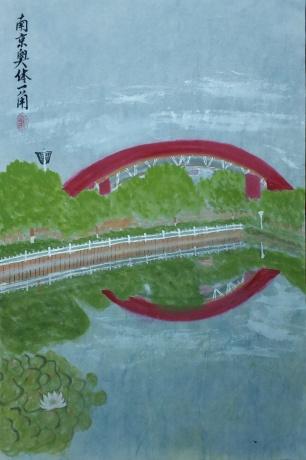 南京奥体一角