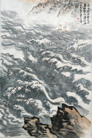长风破浪会有时,直挂云帆济沧海