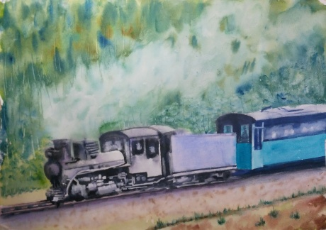 还在跑的蒸汽火车