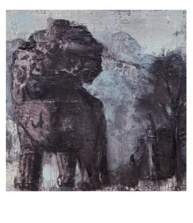 《巩义石雕—掉落人间的精灵系列之3》