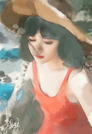 作品《定格》作者:果酱女王-俞果