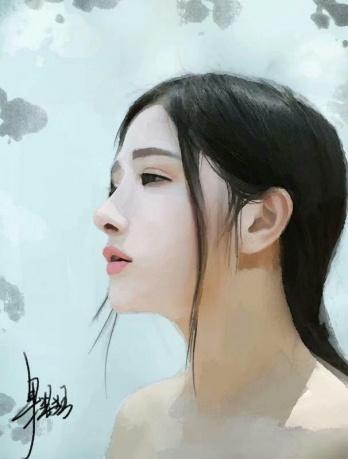 作品《目光》作者:果酱女王-俞果