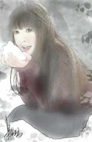 作品《童年记忆》作者:果酱女王-俞果